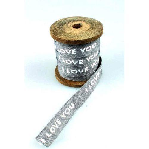 La finesse / Bavlnená stuha Love