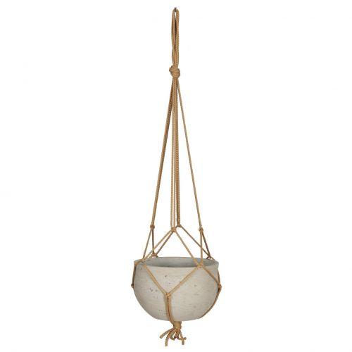 Garden Trading / Závesný betónový obal na kvetináč Stratton Hanging Pot