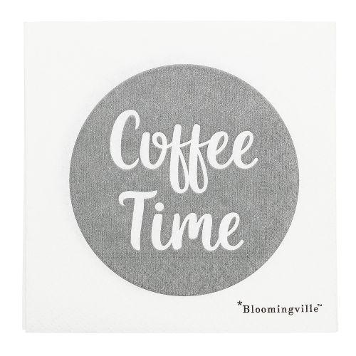 Bloomingville / Papierové obrúsky Coffee Time