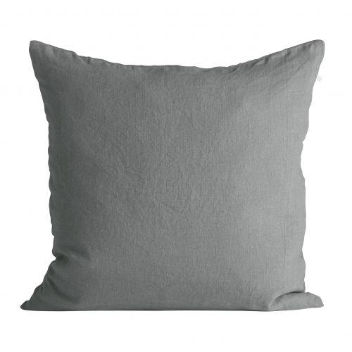 Tine K Home / Ľanová obliečka na vankúš Ash 50x50cm