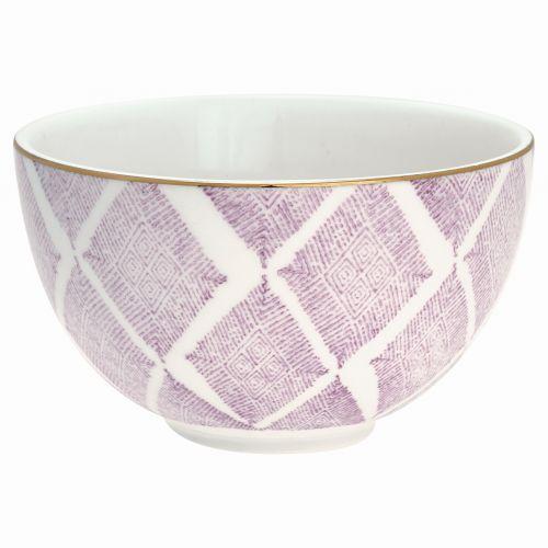 GREEN GATE / Porcelánová miska Kassandra lavender