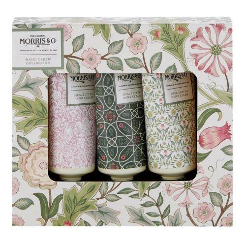 MORRIS & Co. / Krém na ruky Jasmine & Green Tea - 3x30ml
