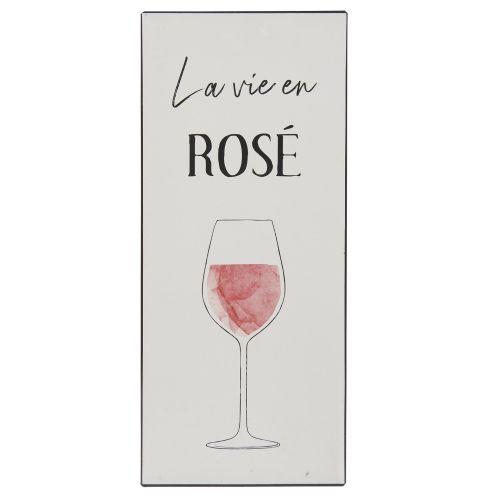 IB LAURSEN / Plechová ceduľa La Vie en Rosé