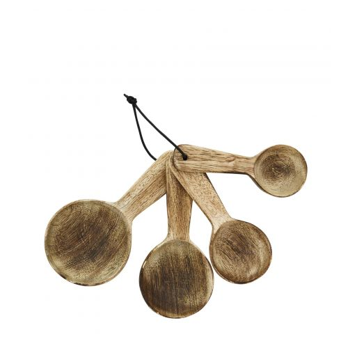 MADAM STOLTZ / Odmerky z mangového dreva Natural