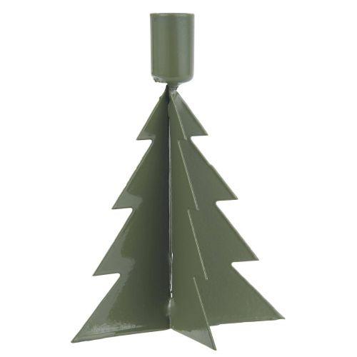 IB LAURSEN / Kovový vianočný svietnik Christmas Tree Green
