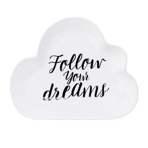 Bloomingville / Keramický tanierik Summer Cloud