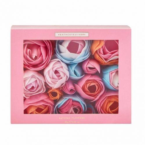 HEATHCOTE & IVORY / Mydlové kvety do kúpeľa Pinks & Pear Blossom 85 g
