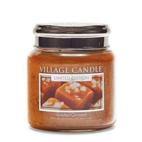 VILLAGE CANDLE / Sviečka Village Candle - Golden Caramel 389 g