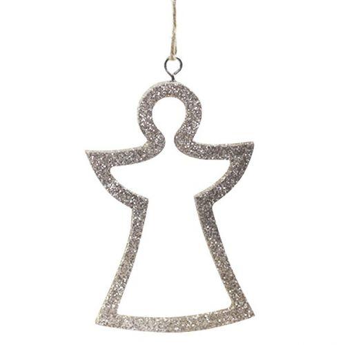 Chic Antique / Vianočná ozdoba Glitter Angel