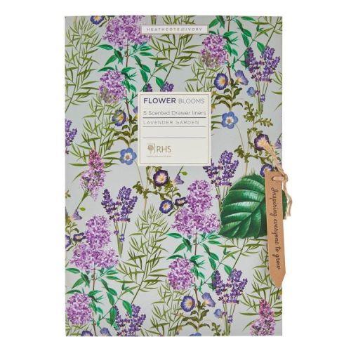 HEATHCOTE & IVORY / Vonné listy do skrine Lavender Garden - 5 ks