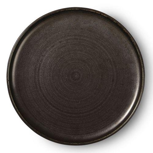 HK living / Porcelánový tanier Kyoto Black