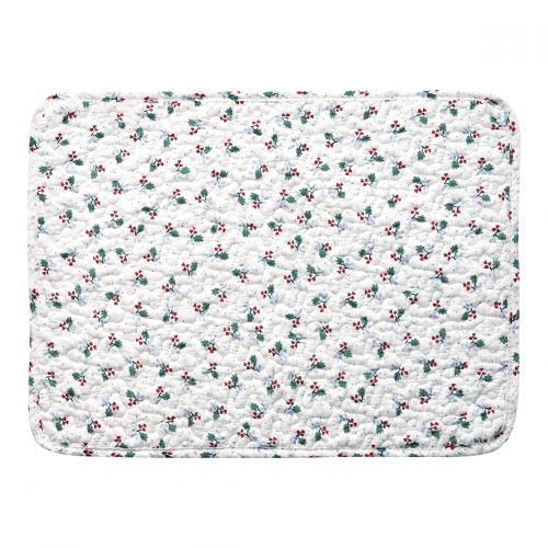 GREEN GATE / Prešívané prestieranie Joselyn White 35x45cm