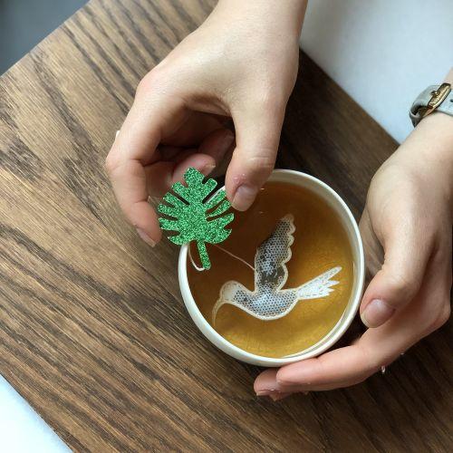 TEA HERITAGE / Zelený čaj s jazmínom jasmine Crane 5 ks