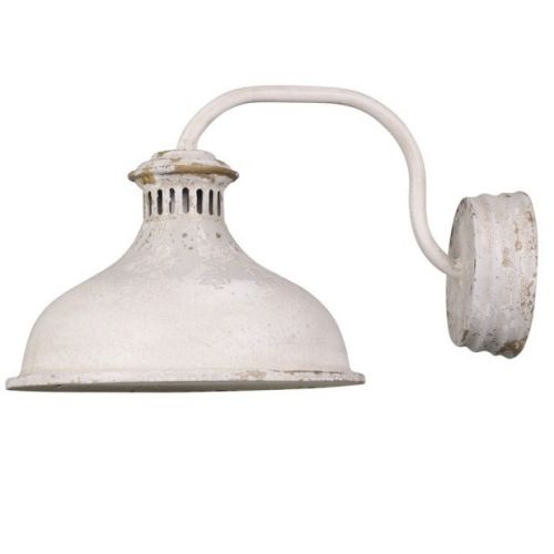 Chic Antique / Nástenná lampa Cream Iron