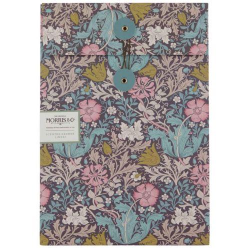MORRIS & Co. / Vonné listy do skrine Pink Clay & Honeysuckle - 5 ks
