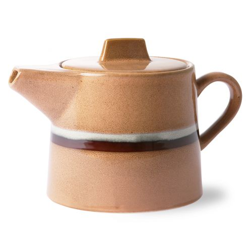 HK living / Keramická kanvica 70's Tea Pot Steam 1,2 l