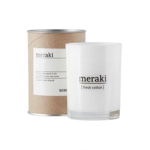 meraki / Vonná sviečka Meraki - Fresh Cotton