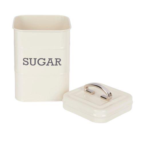 Kitchen Craft / Plechová dóza na cukor Cream