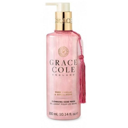 Grace Cole / Tekuté mydlo na ruky Warm Vanilla & Sandalwood 300ml