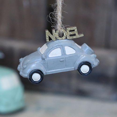 Chic Antique / Vianočná ozdoba Blue Car