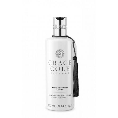 Grace Cole / Tělové mléko White Nectarine  & Pear 300ml