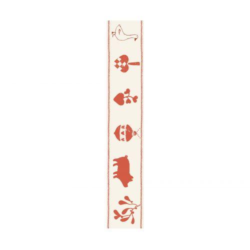 Maileg / Vánoční bavlněná stuha Bohemian 1,5 cm