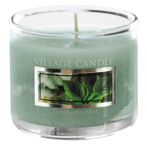 VILLAGE CANDLE / Mini svíčka Village Candle - Eucalyptus Mint