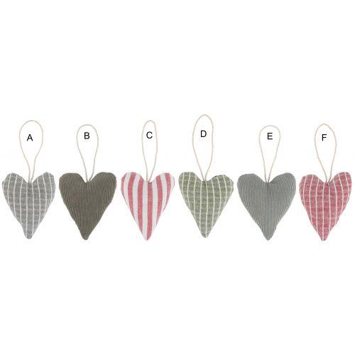 IB LAURSEN / Vianočná textilná ozdoba Textile Heart