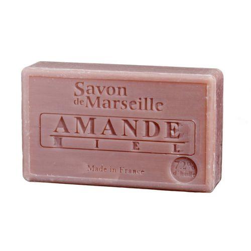 LE CHATELARD / Marseillské mydlo 100 g - mandľa a med