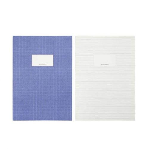 MONOGRAPH / Sada zošitov A4 Study Blue/Green - 2 ks