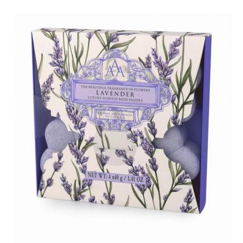 Somerset Toiletry / Šumivé kvietky do kúpeľa - Lavender 4x40g