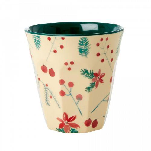 rice / Melamínový pohárik Poinsettia 250 ml