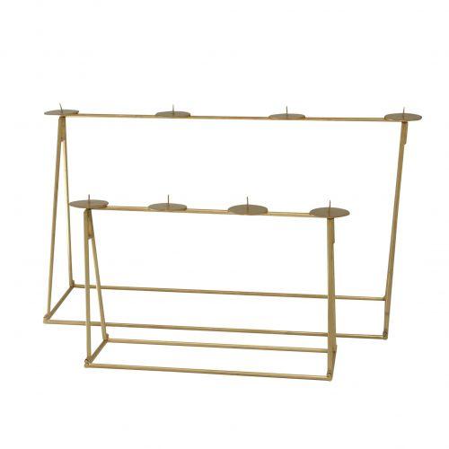 Krasilnikoff / Adventný svietnik Foldable Brass