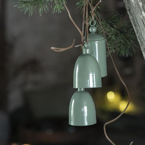 IB LAURSEN / Kovový zvonček Conical Green