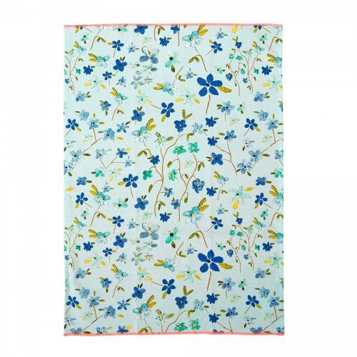 rice / Bavlnená utierka Blue Floral