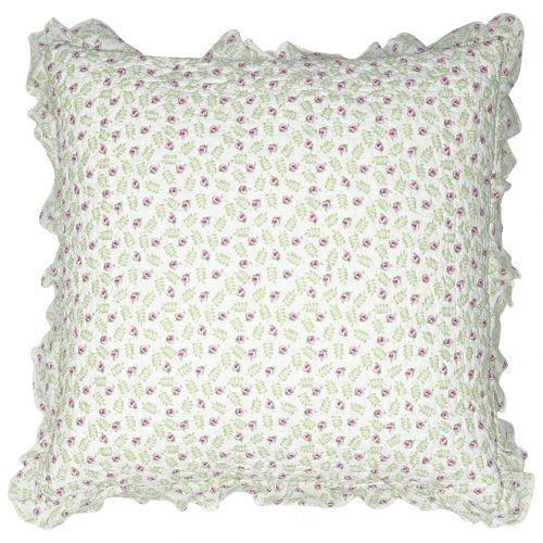 GREEN GATE / Obliečka na vankúš Lily Petit White 50x50cm
