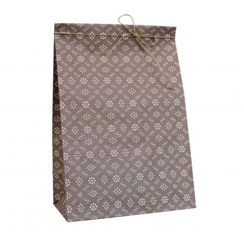 IB LAURSEN / Papírový sáček Milky brown L