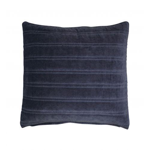 Krasilnikoff / Zamatová obliečka na vankúš Dark Blue 50x50