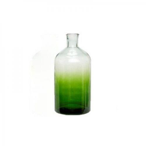 Hübsch / Váza Bottle Green