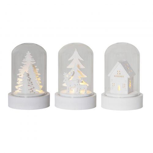 STAR TRADING / Svietiaca dekorácia - Winter Fairytale set 3 kusov