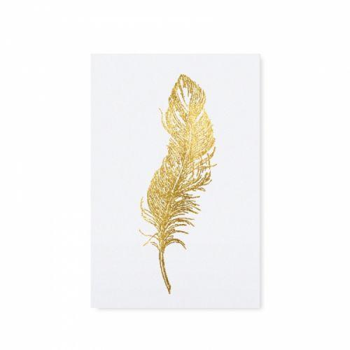 TAFELGUT / Pohľadnica Golden Feather 12x17,5cm