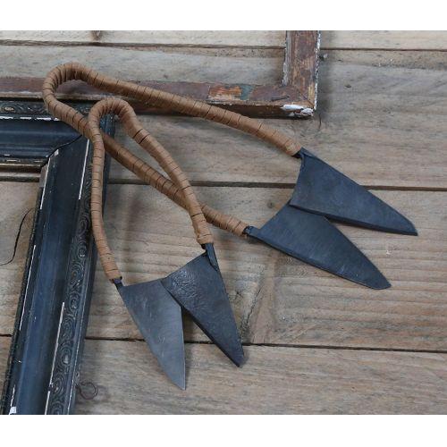 Chic Antique / Kovové nožničky Antique Coal