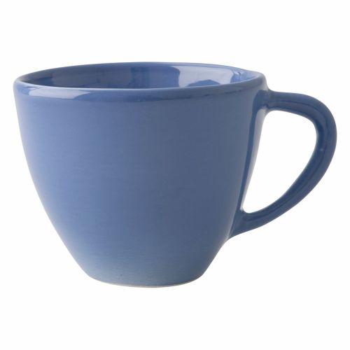 rice / Veľký keramický hrnček Blue
