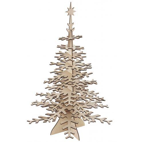 IB LAURSEN / Drevená vianočná dekorácia Christmas Tree DIY