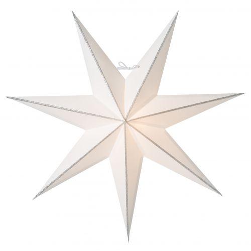 watt & VEKE / Závesná svietiaca hviezda Linje Silver 60 cm