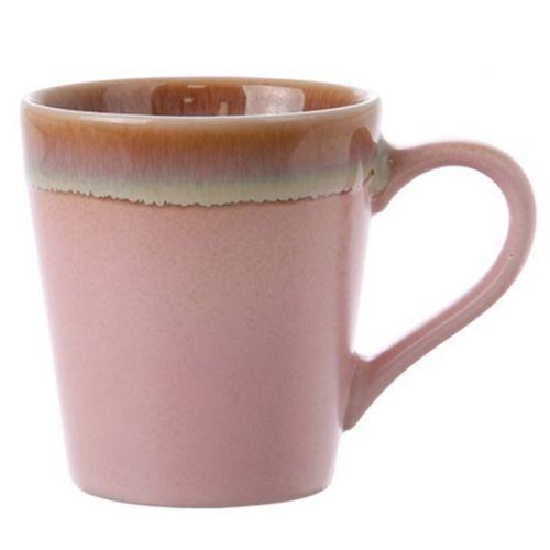 HK living / Keramický hrnček Pink Espresso Mug