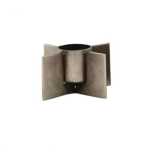 House Doctor / Kovový svietniček Wing Raw Iron - menší