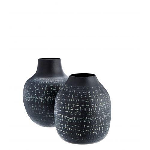 MADAM STOLTZ / Vázička Black Aluminiums