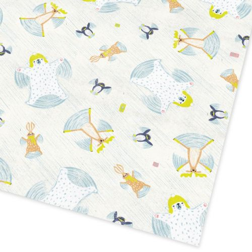 Ohh Deer / Baliaci papier Snow angel animals