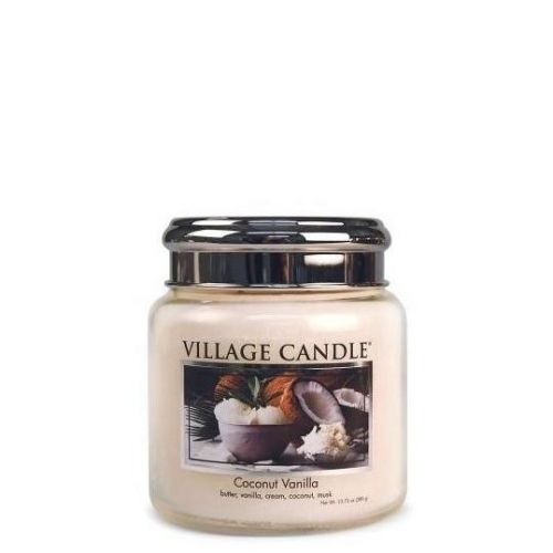 VILLAGE CANDLE / Sviečka Village Candle - Coconut Vanilla 92 g